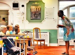 Storytelling at Abby Ravenscroft Park
