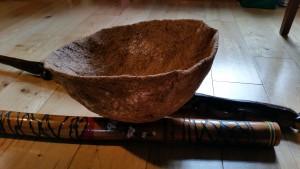 Props for The Wedding Basket folktale.