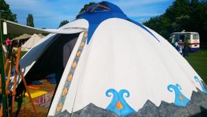 Storytelling Yurt