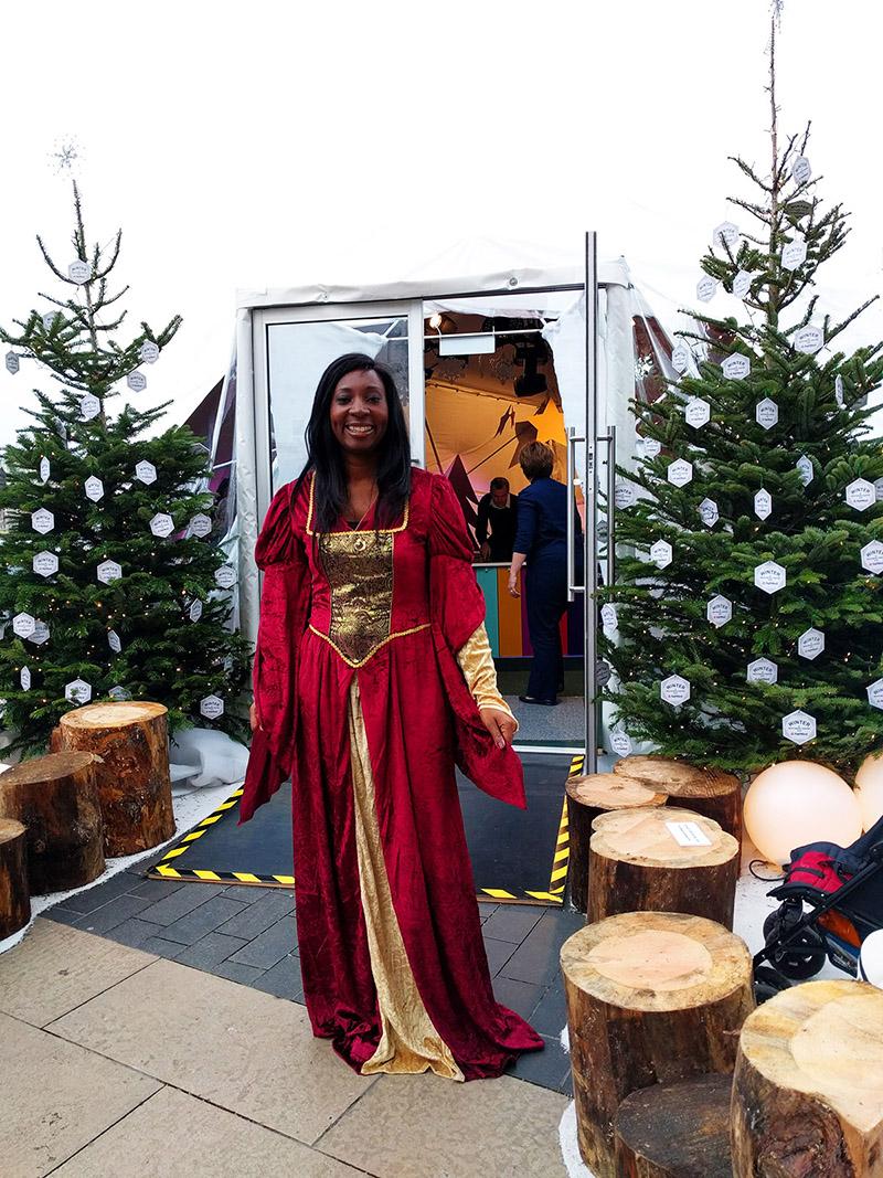 Wendy Shearer Winter storytelling - Southbank Centre Winter Festival