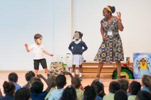 Wendy Shearer Storytelling at Moreland Primary School