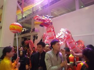 Dragon Dancers at The Science Museum