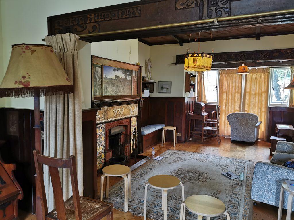 Inside Little Holland House