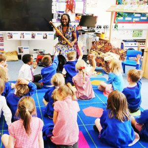 Wendy Shearer Storytelling at Harris Primary Academy