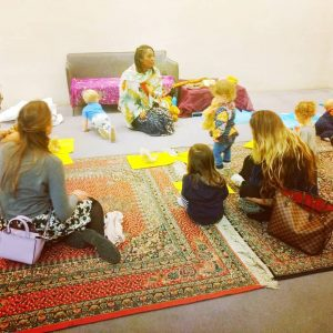 Under 5 year olds storytelling with Wendy Shearer - British Museum