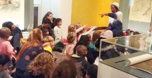 Wendy Shearer storytelling at the British Museum