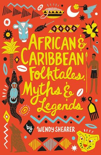 African and Caribbean Folktales, Myths and Legends, Book Cober
